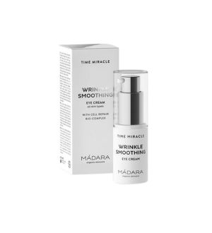 MÁDARA TIME MIRACLE WRINKLE SMOOTHING EYE CREAM CONTORNO OCCHI 15 ML