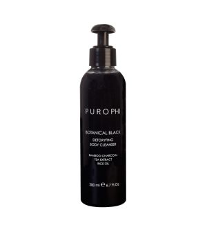 PUROPHI BOTANICAL BLACK DETOXYFING BODY CLEANSER DETERGENTE CORPO 200 ML